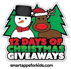 """Oh Em Gee!"" That's what the youngsters these days say right?  Enter here to win ALL 12 Days of Christmas GIVEAWAYS!  One amazingly lucky person will win an iPad Mini, multiple gift cards, an iPad case, wireless speakers and MORE!   Enter here to win:  http://www.smartappsforkids.com/2014/12/twelve-days-of-christmas-giveaway-day-12-an-ipad-mini-from-smart-apps-for-kids-and-a-christmas-trivi.html"