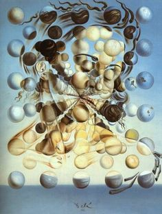 Salvador Dali Galatea of the Spheres art painting for sale; Shop your favorite Salvador Dali Galatea of the Spheres painting on canvas or frame at discount price. L'art Salvador Dali, Salvador Dali Paintings, Salvador Dali Quotes, Max Ernst, Inspiration Art, Surreal Art, Love Art, Les Oeuvres, Art History