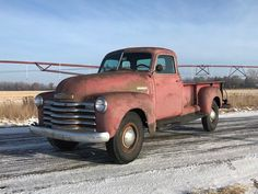 1949 5 Window Deluxe Chevrolet Pickup Truck 9' Foot Bed One Ton 3800 for sale: photos, technical specifications, description Best Pickup Truck, Pickup Trucks For Sale, Chevy Pickup Trucks, Chevy Pickups, Chevrolet Trucks, Chevrolet Silverado, Big Trucks, 1951 Chevy Truck, Lifted Ford Trucks