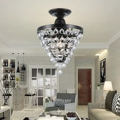 Shop for Stanzo 1-light Antique Bronze Tear Drop Crystal Ceiling Light. Get free delivery at Overstock.com - Your Online Home Decor Shop! Get 5% in rewards with Club O! - 20995367