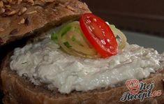 Pomazánka z nivy | NejRecept.cz Brunch, Sushi, Grains, Food And Drink, Appetizers, Yummy Food, Meat, Baking, Vegetables
