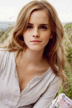 Emma Watson---I'm missing my blonde hair and want to steal hers.
