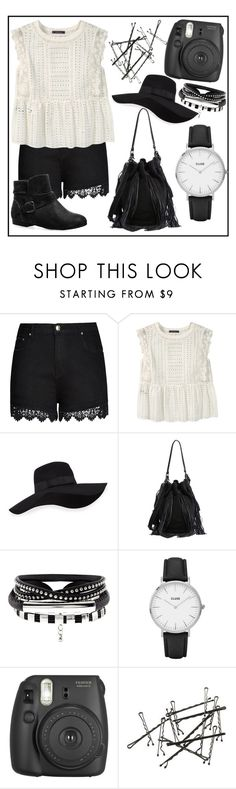 """Missing those summer days"" by gbears6 ❤ liked on Polyvore featuring City Chic, Violeta by Mango, San Diego Hat Co., Loeffler Randall, CLUSE, Fujifilm, Avenue and plus size clothing"