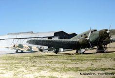 EBA - RHAF.  Junkers Ju 52-3/m. At Hasani - Kalamaki airport. Athens. Greece  by Markos Danezis