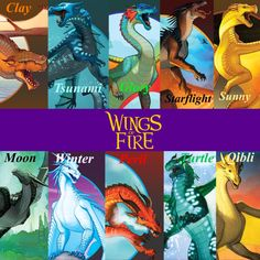 wings of fire dragons
