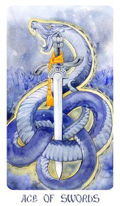 Ace of swords by Losenko