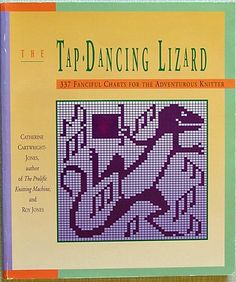 """Link to a book review of """"The Tap-Dancing Lizard"""" by Catherine Cartwright-Jones, Roy Jones. The review is in German and English, by kind permission from Kerstin of the Strickforum blog."""