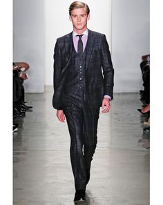 The GQ Fall 2012 Trend Report by Jim Moore - Fall Fashion for Men: Wear It Now: GQ THREE PIECE SUIT!