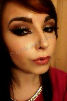 Double Liner makeup Look
