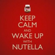 Nutella has a global presence, and so the celebration has to be international. North America, the Middle East, Europe...we will be gathering...