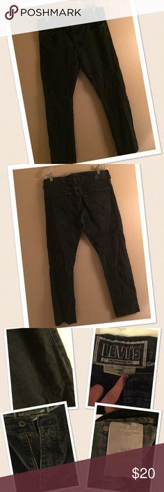 Men's Levi's jeans 👖 Great men's jeans dark grey skinny fit size 36x32 comfortable jeans Levis Jeans Skinny