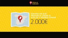 ¿Sabrías decirnos en qué provincia tocará el #SueldoNESCAFÉ este año? ¡Participa y podrás ganar 2.000€!