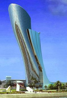 Beautiful Capital Gate in Abu Dhabi