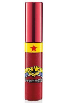 WONDER WOMAN Lipglass Wonder Woman ..... @Abigail Rice I'm getting you this!
