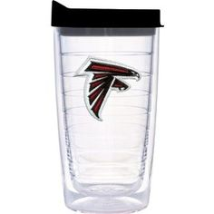 16oz Atlanta Falcons Tervis Tumbler with Lid available at End Zone Apparel