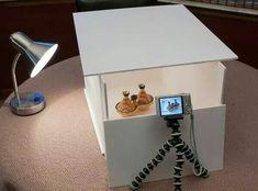 DIY make your own light box