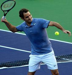 Roger Federer Indian Wells 2014 #federer