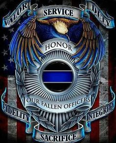 Honor the fallen #blueline #lawenforcement #police