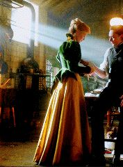 Edith Cushing's green jacket from Crimson Peak (costumes by Kate Hawley)