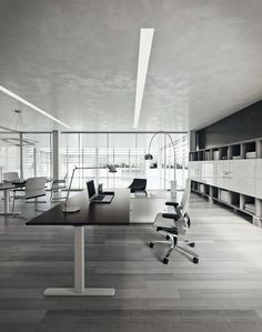 #DV803 #Nobu The exact expression of clarity and lightness of construction. Arises as a product favouring operations, with its light design of structure added to the minimal and elegant shapes it configures and customizes any workplace. Design by Perin & Topan