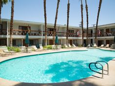 A simple, cheery place to hang your hat in Palm Desert, The Inn at Deep Canyon…