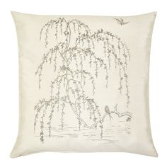 Find sophisticated detail in every Laura Ashley collection - home furnishings, children's room decor, and women, girls & men's fashion. Laura Ashley Cushions, Scatter Cushions, Throw Pillows, Cushion Inspiration, Weeping Willow, Vintage Room, Childrens Room Decor, French Vintage, Interior Styling