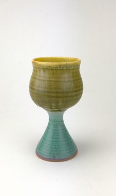 A personal favorite from my Etsy shop https://www.etsy.com/listing/500325698/wine-goblet-handmade-stoneware-pottery
