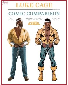 "1,968 Likes, 14 Comments - • Accurate.MCU • mcu fanpage (@accurate.mcu) on Instagram: ""• LUKE CAGE - COMIC COMPARISON • I love Marvel for slipping in little scenes like this. It was so…"""