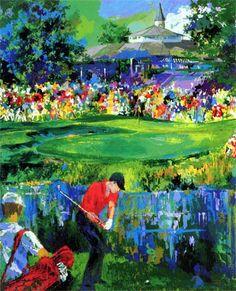 Valhalla PGA 2000 by Leroy Neiman