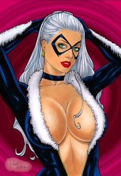 Black Cat by Rubismar da Costa by winchester01.deviantart.com on @deviantART