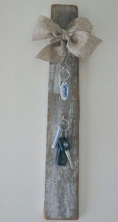 {DIY} Key holder