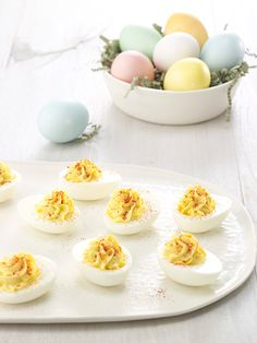 Chobani Yogurt -Deviled Eggs - Chobani Yogurt