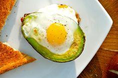 Avocado egg bake!