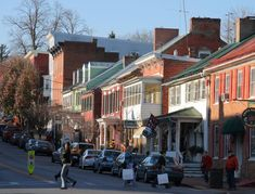 Shepherdstown Historic District in Jefferson County, West Virginia. Towns In West Virginia, West Virginia Vacation, West Virginia History, Best Places To Live, Cool Places To Visit, Great Places, Beautiful Places, Shepherdstown West Virginia, Lake Shawnee Amusement Park