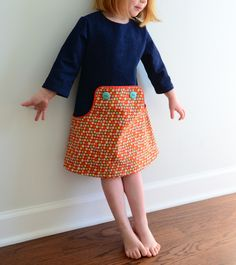 Louisa Dress in Denim - must purchase this pattern!