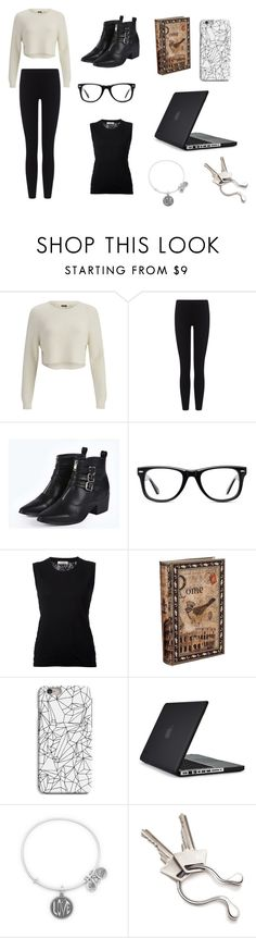 """Alex Dunphy"" by design334 ❤ liked on Polyvore featuring 2NDDAY, James Perse, Boohoo, Muse, Nina Ricci, INDIE HAIR, Speck, Alex and Ani and Georg Jensen"