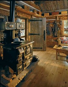 Old-fashioned Log Cabin... Love it!