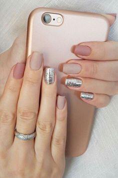 New nails acrylic short matte nailart Ideas Stiletto Nails, Toe Nails, Types Of Nails Shapes, Gelish Nails, Trendy Nail Art, Best Nail Art Designs, Super Nails, Nail Art Hacks, Perfect Nails