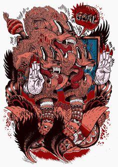 Three lions   55DSL - Iain Macarthur