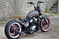 Use Bobber Motorcycle To Make Someone Fall In Love With You Honda Bobber, Virago 125 Bobber, Honda Shadow Bobber, Virago 535, Bobber Bikes, Harley Bobber, Harley Bikes, Bobber Motorcycle, Bobber Chopper