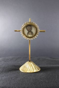 Reliquary containing a relic of Saint Rose of Lima