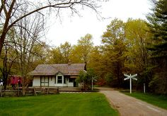 Westfield Heritage Village is a living history museum showcasing over 35 historic buildings and spanning 325 acres.