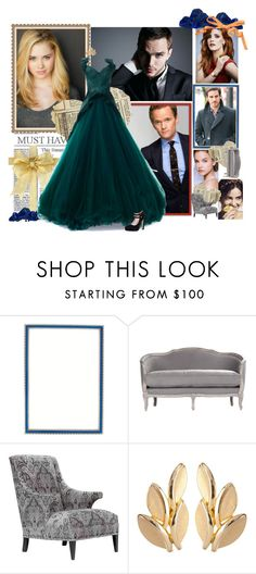 """An Interview with Marlow"" by animationchic ❤ liked on Polyvore featuring Haffke, Andrew Martin, Zac Posen, Susan Caplan Vintage and Kate Spade"