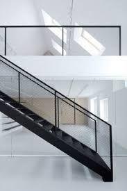 Bildergebnis für geländer glas stahl schwarz industrial