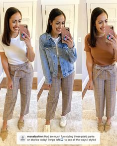 Business Clothes, Business Outfits, Mom Jeans, Pants, Style, Fashion, Trouser Pants, Swag, Moda