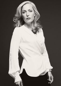 """The way she dresses is obviously by choice, but it's not for anybody other than herself. She knows how to take care of herself and she's not going to downplay that so she is treated differently by men.. I love that it gets under their skins."" - Gillian Anderson on Stella Gibson (Harper's Bazaar UK: Women Of The Year 2013, December issue)."