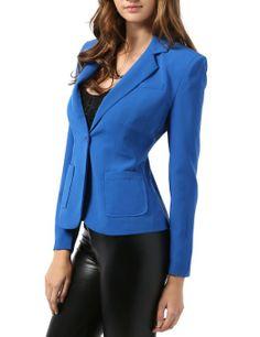 Amazon.com: 9XIS Women's Tailored Boyfriend Blazer: Clothing