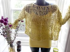 Drop Everything Sweater by TaddieTadpole on Etsy