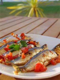 Easy Portuguese Baked Sardines recipe
