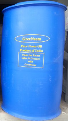 Exporters of 100% Pure Natural Cold Pressed OMRI certified Organic GreeNeem Neem Oil with highest Azadirachtin value.